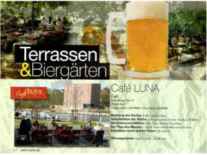 Café LUNA auf lacarte.de